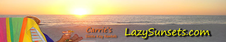 Lazy Sunset Vacations on Siesta Key Florida
